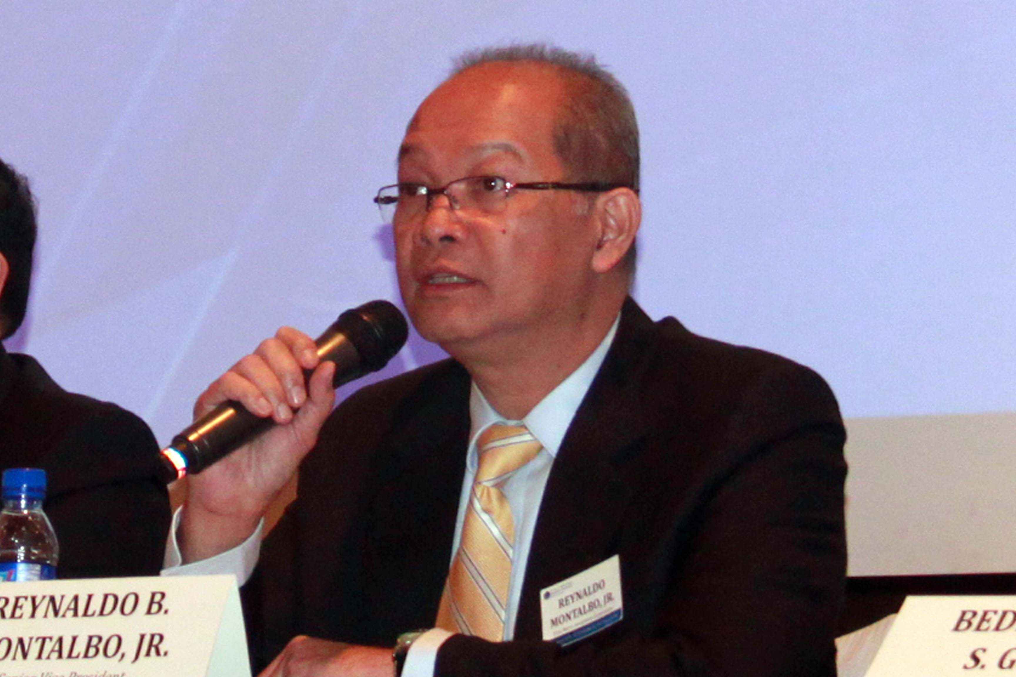 Reynaldo Montalbo, Financial Markets Group Head, at the First Metro Annual Economic & Capital Markets Briefing