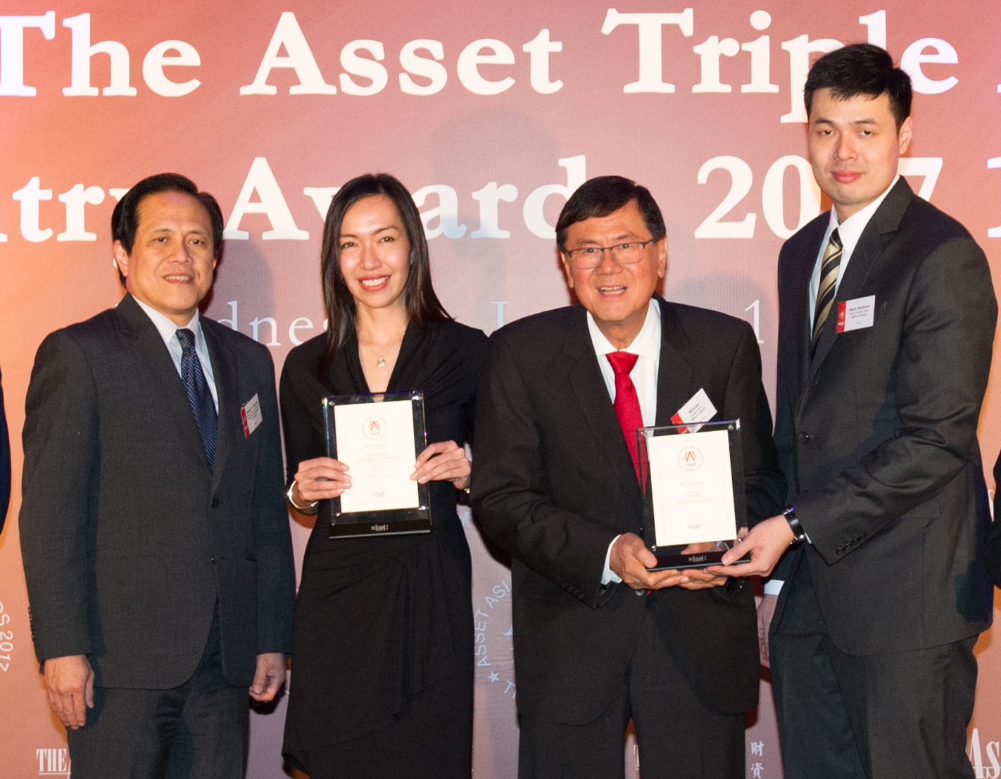 First Metro receives IPO of the Year award from The Asset